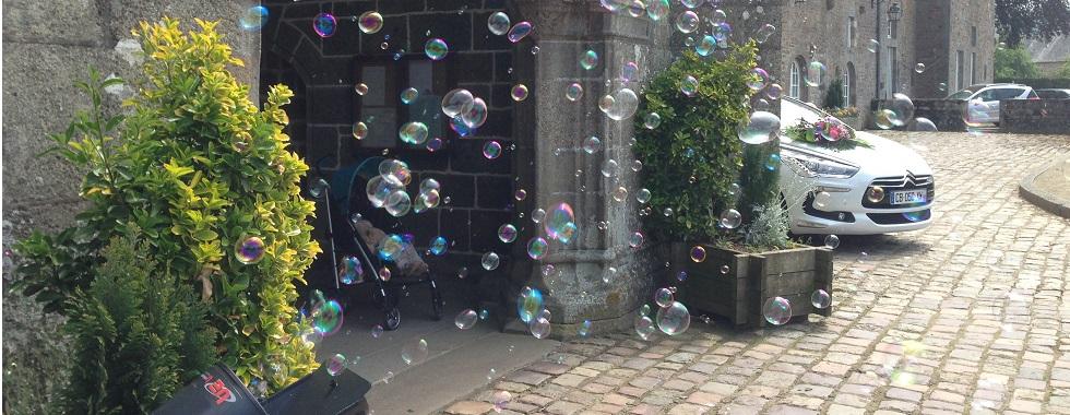Louez une machine à bulle